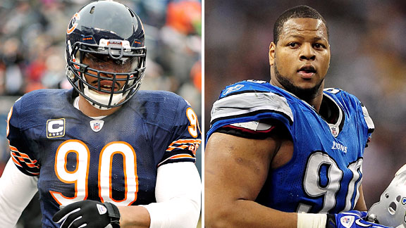Julius Peppers & Ndamukong Suh