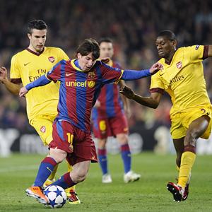 Barcelona and Arsenal