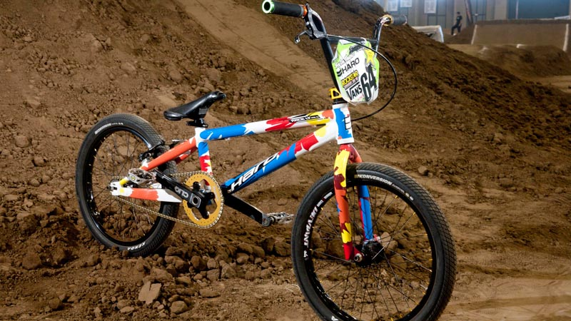 Bike Check Nic Long S Haro Race Lite Xl