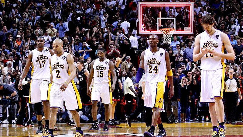 Lakers walk off