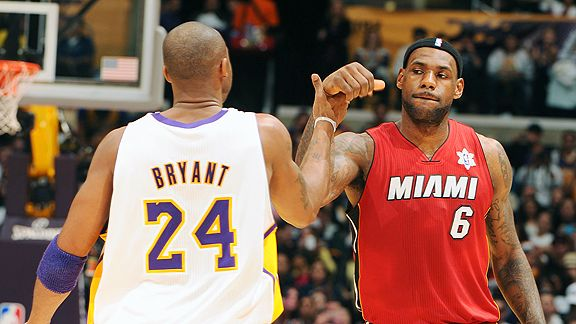 LeBron and Kobe