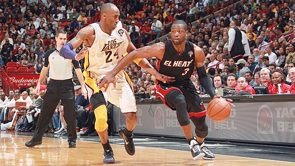 Kobe Bryant and Dwyane Wade