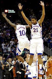 Tyshawn Taylor and Markief Morris