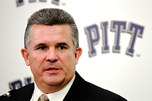 University of Pittsburgh's new head football coach Todd Graham