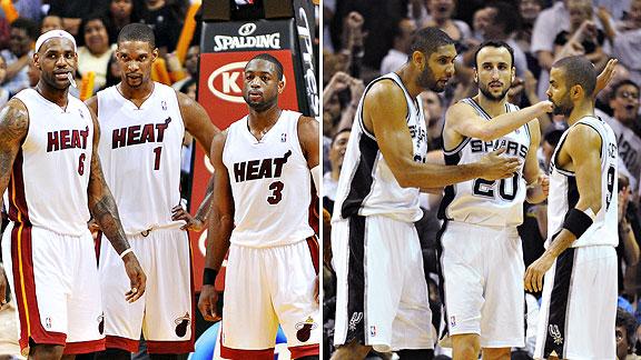 Heat/Spurs