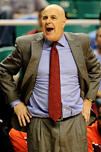 Virginia Tech coach Seth Greenberg