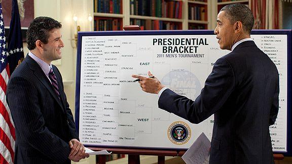 Barack Obama & Andy Katz