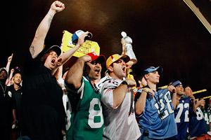 NFL Draft fans