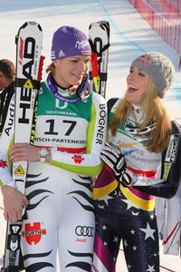 Maria Riesch, Lindsey Vonn
