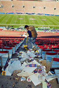 Stadium Trash