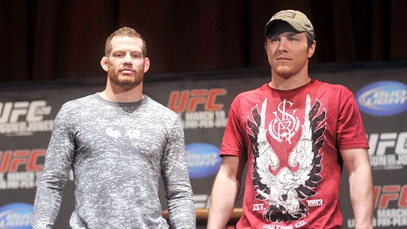 Dan Miller and Nate Marquardt
