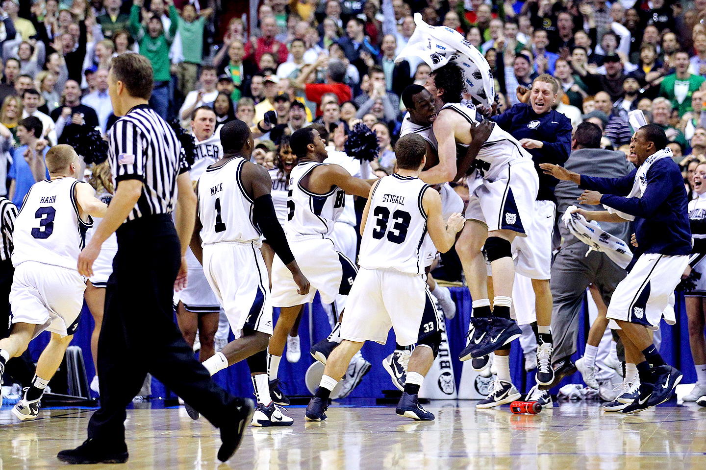 Butler Bulldogs celebrate