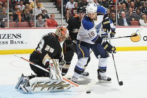 Ducks vs Blues