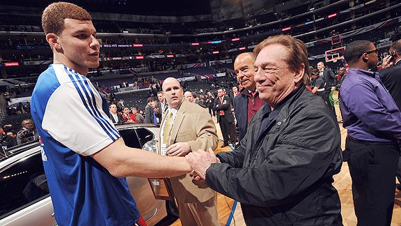 Blake Griffin and Donald Sterling