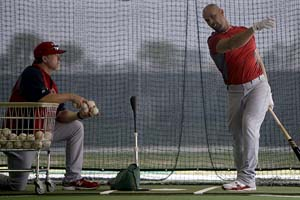 Mark McGwire & Albert Pujols