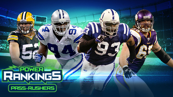 Clay Matthews/DeMarcus Ware/Dwight Freeney/Jared Allen