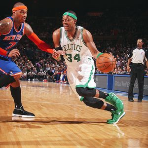 Nathaniel S. Butler/NBAE/Getty Images Paul Pierce looks to drive