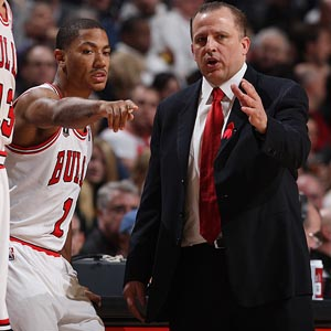 Derrick Rose & Tom Thibodeau