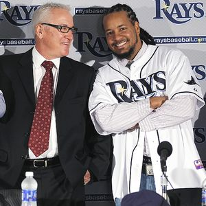 Manny Ramirez and Joe Maddon