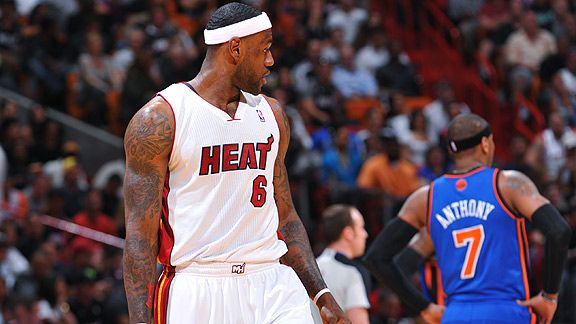 LeBron James & Carmelo Anthony