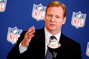 NFL commissioner Roger Goodell