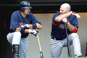 Kevin Youkilis and Adrian Gonzalez