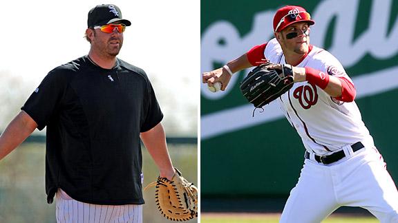 Adam Dunn & Bryce Harper