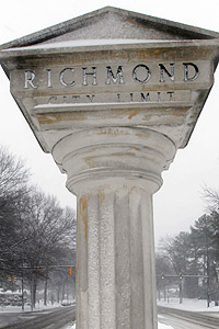 Richmond Virginia Sign