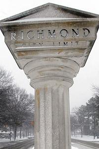 Richmond Virginia Sign