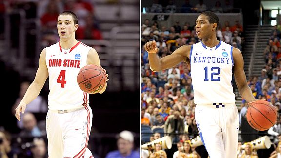 Aaron Craft  and Brandon Knight