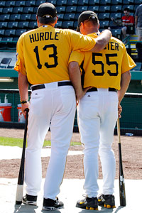 Clint Hurdle & Jeff Bannister