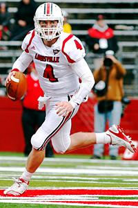 Louisville quarterback Will Stein