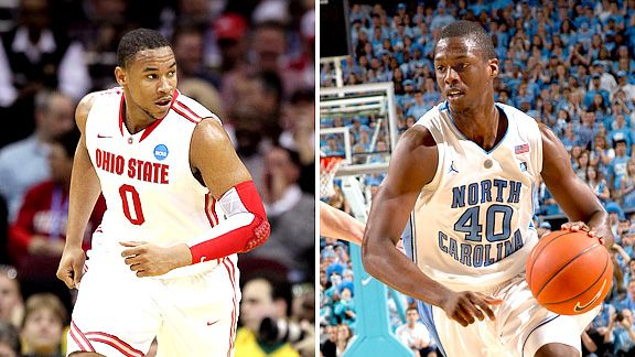 Jared Sullinger and Harrison Barnes