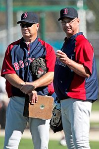 Curt Young and Terry Francona