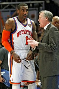 Amare Stoudemire and Mike D'Antoni