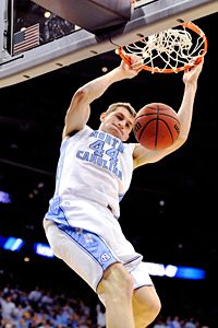 North Carolina's Tyler Zeller