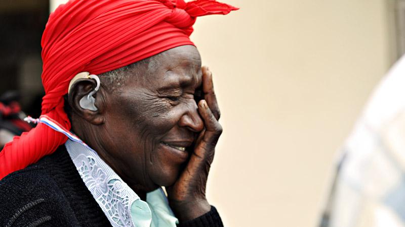 elderly Rwandan Woman