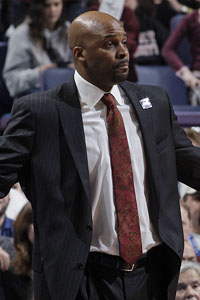 Tennessee hired Cuonzo Martin, formerly of Missouri State, to replace Bruce Pearl as coach.