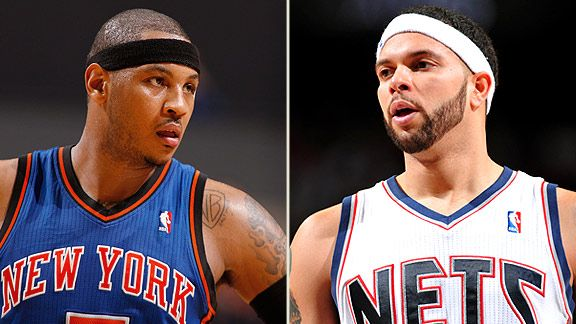 Carmelo Anthony & Deron Williams