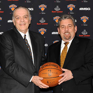 James Dolan & Donnie Walsh