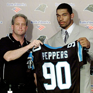 John Fox and Julius Peppers