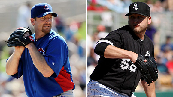 Ryan Dempster & Mark BUehrle