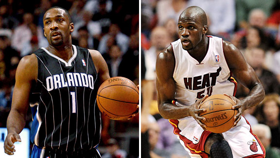 Joel Anthony & Gilbert Arenas