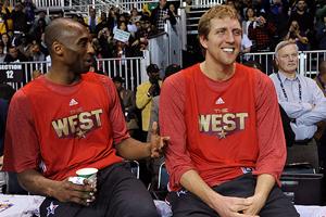 Dirk Nowitzki & Kobe Bryant