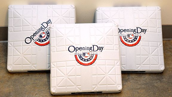 Opening Day bases