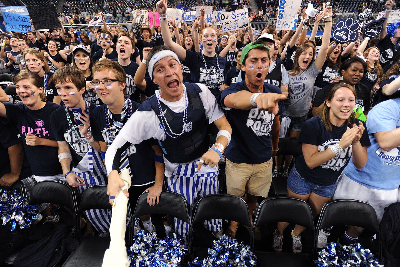 Butler Bulldogs fans