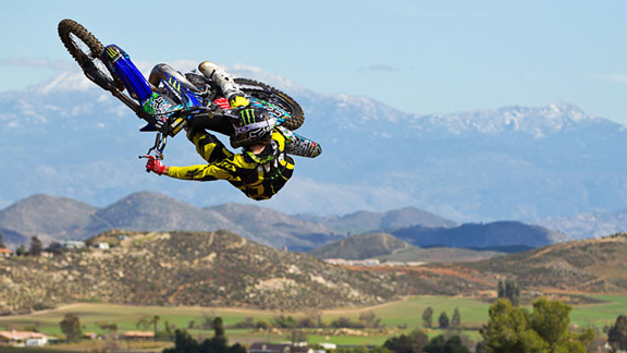 Norway's Andre Villa took the Best European FMX Rider award for his solid 2010 season.