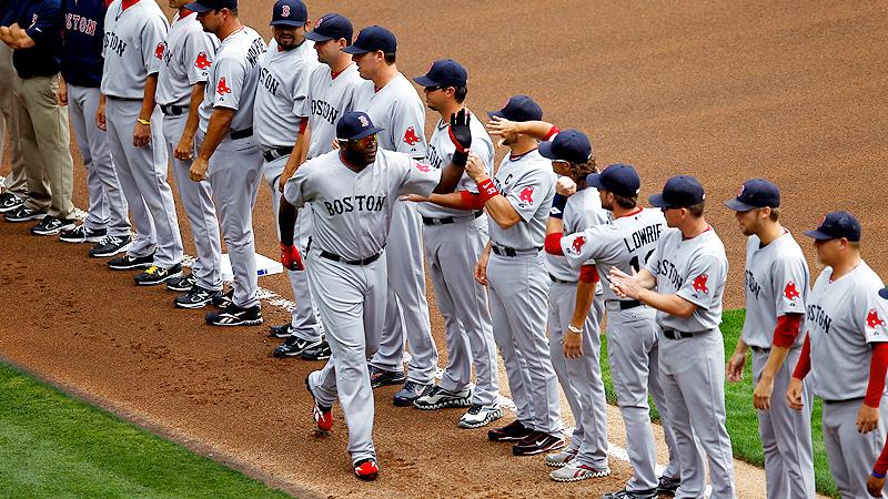 Red Sox vs Rangers