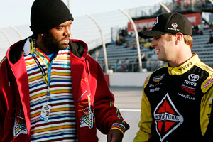 Randy Moss & Travis Kvapil