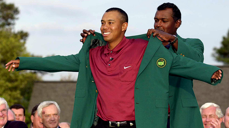 Tiger Woods Green Jacket - Pl Jackets